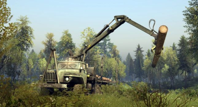 Carscoops: Off-Road Simulator Spintires on Final Stretch of D...
