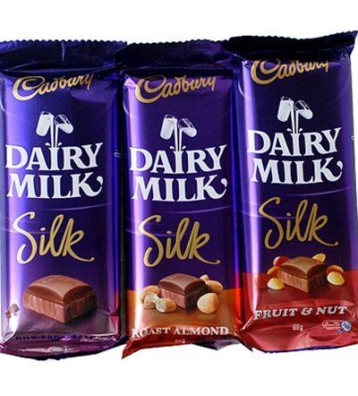 Cadbury Dairy Milk Silk on Gift Daddy