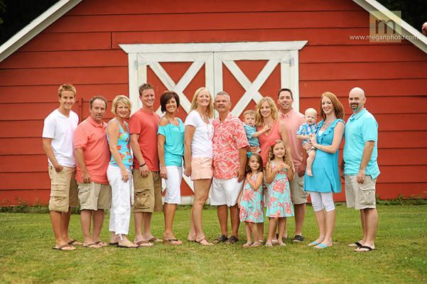 Large Family Photo Ideas What