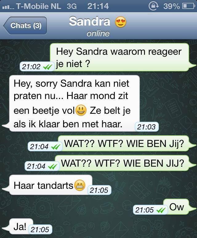 whatsapp gesprek nederlands - Google zoeken