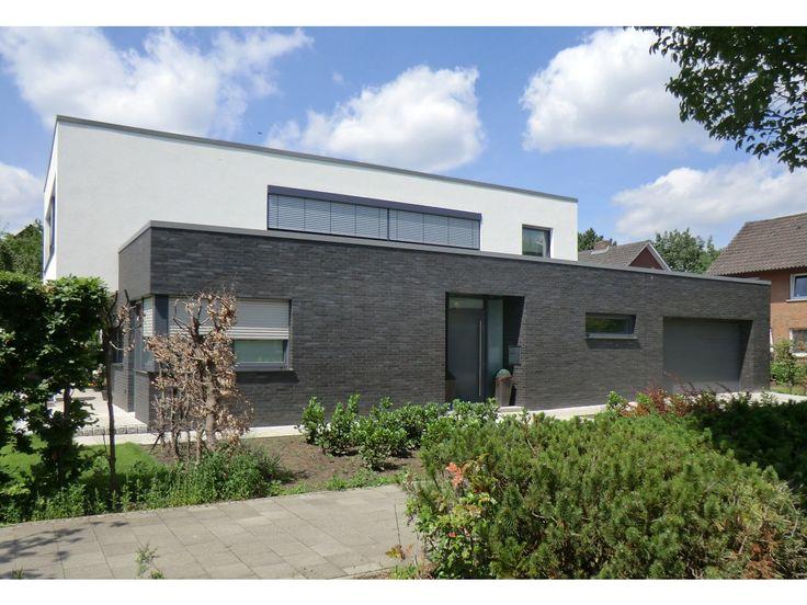 Verblender / Klinker Verblender K191 / Klinker / Fassade / anthrazit blau nuanciert