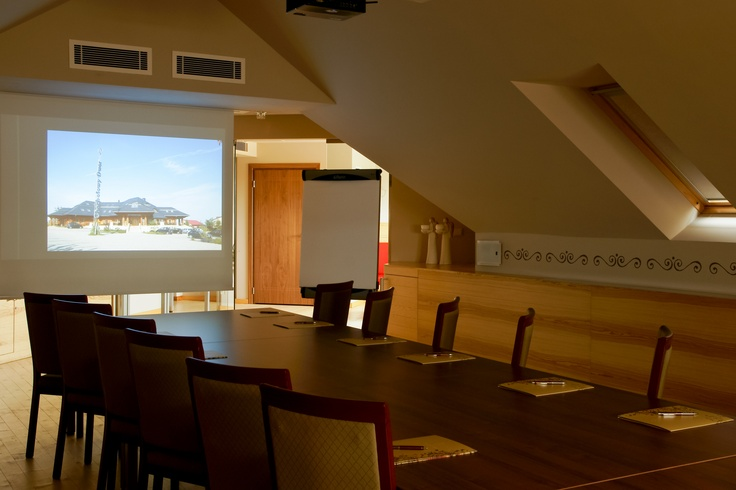 Modern and professional #conference facilities at the Chochołowy Dwór