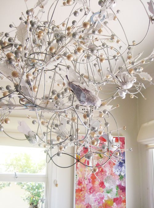 Best 29 wire lampshade images on pinterest wire lampshade lamp birds on wire lampshade frames greentooth Images