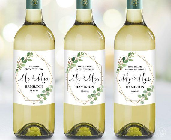 Personalized Wedding Wine Bottle Labels Printable Wine Bottle Personalized Wine Bottle Labels Wedding Wine Bottle Invitations Wine Bottle Labels Wedding