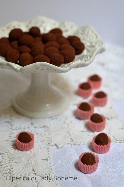Italian Food - Tartufi al cioccolato e rum