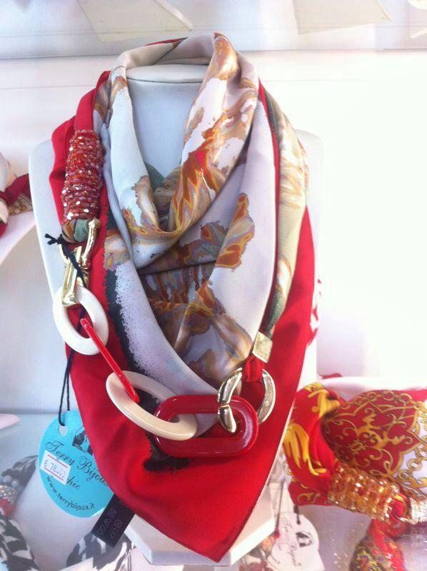 #foulard gioiello