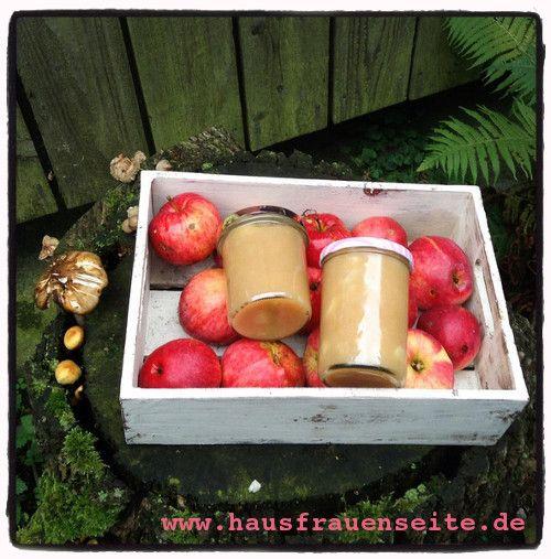 Apfelmus selber machen - Rezept