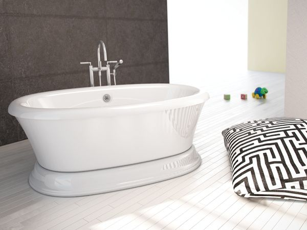 freestanding tub with air jets. 129 best Freestanding Bathtubs images on Pinterest  bathtub and Bathroom fixtures