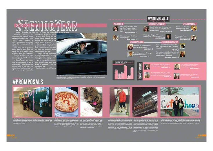 High school student life 2014 - Yearbook Discoveries More