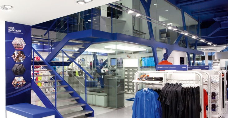 NEW ASICS STORE IN LONDON | ASICS BY WESTS DESIGN CONSULTANTS