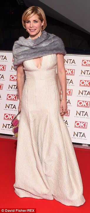 Huge turnout: Strictly Come Dancing judge Darcy Bussell looked lovely in cream dress teame...
