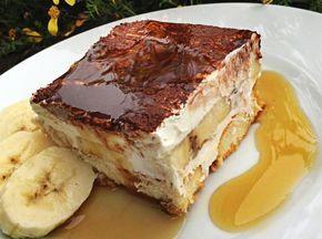 Úžasný smetanový dortík pro milovníky banánů. Ale to jsme asi všichni, co? :D