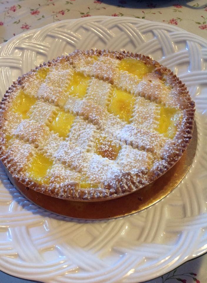 crostata sablè con crema al limone