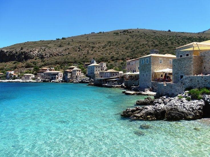 Limeni village in Mani Peloponnese