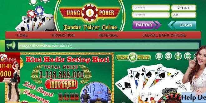UANGPOKER – Agen Poker Online, DominoQQ Terpercaya