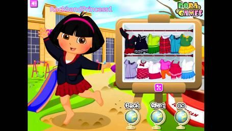 You can either play the games online with your tyke, or you can give them a chance to play alone. You can be guaranteed that when they are playing Dora games,