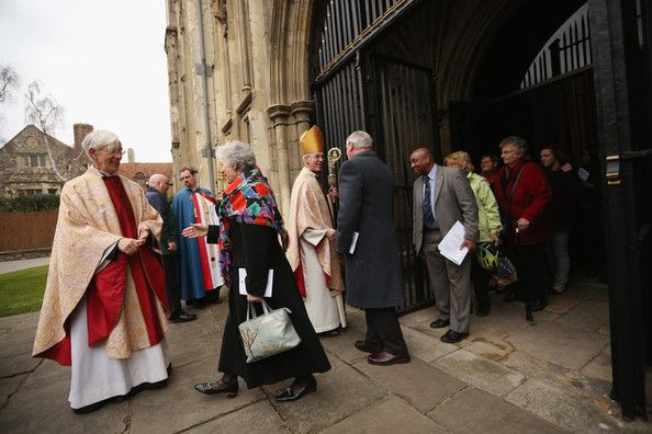 Justin Welby Photos - The Archbishop Of Canterbury Justin Welby's First Easter Sunday In Office - Zimbio