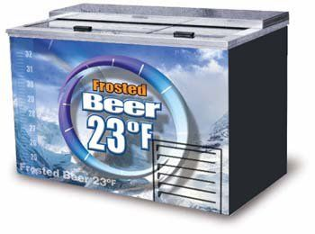 Beer Frosters, Refridgerant, 2 Doors, Fits 336 Bottles, 15 Cubic Feet Commercial Fridge and Freezer. Durable, reliable and long lasting.. Powerful Refrigeration, Industrial Grade. Made in the USA with Finest Materials. Product Warranty: One years parts and labor, additional four year compressor warranty.  #Fogel #BISS