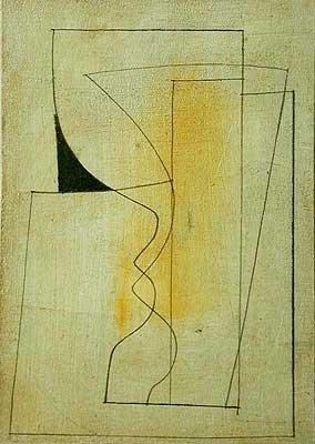 BEN NICHOLSON 1894 - 1982 1955 (RONCO), 1958 oil on board 8 x 5 1/2 inches 20.5 x 13.9 cm