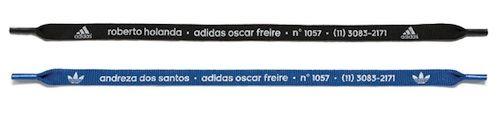 Cartao de visitas da Adidas Oscar Freire