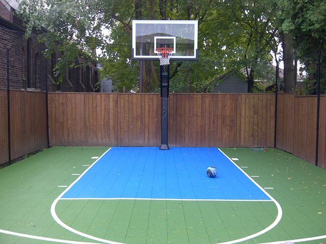 Image result for kids basketball area in backyard ...