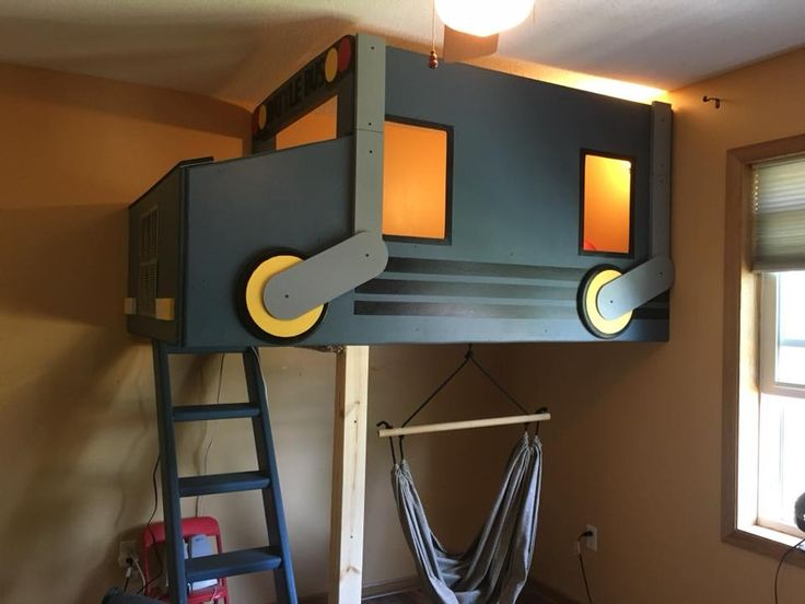 Fortnite Battle Bus Boys Bedroom Loft Diy Projects