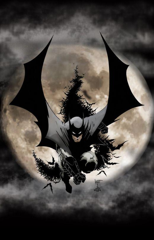 Batman by Ken Hunt.