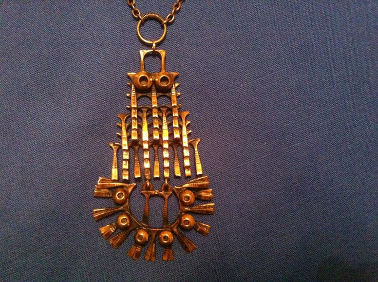 Pentti Sarpaneva, necklace. Robotic owl.