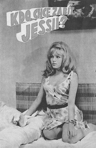 """""""Who wants to kill Jessie ?"""" Olga Schoberová in Bond movies parody (1966)  #film #Czechia #CzechFilm"""