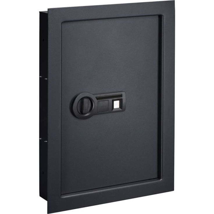 Stack-On In-Wall Safe, Black