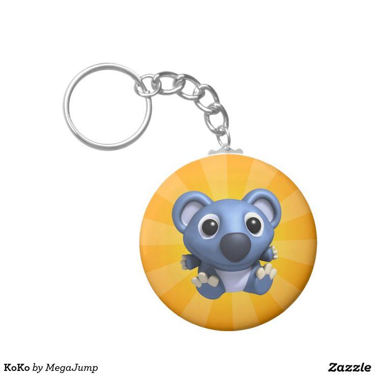 KoKo Basic Round Button Keychain. Regalos, Gifts. #llavero #keychain