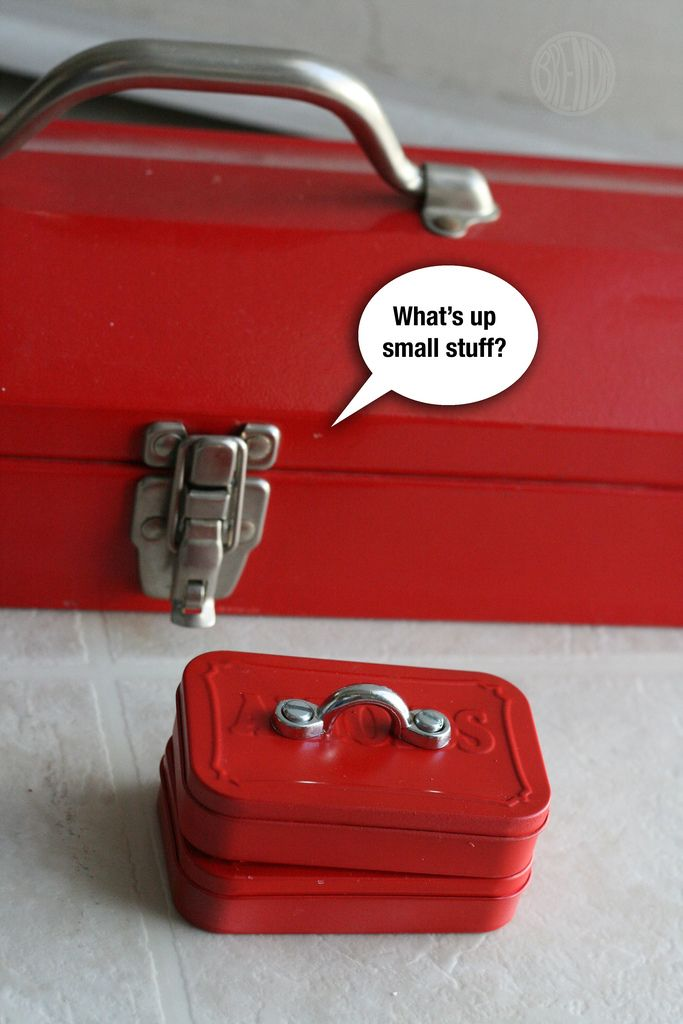 Tiny tool box from Altoid tin.: Minis Toolbox, Gifts Cards, Father Day, Tools Boxes, Fathers Day, Father'S Day, Tins Minis, Altoids Tins, Gifts Boxes