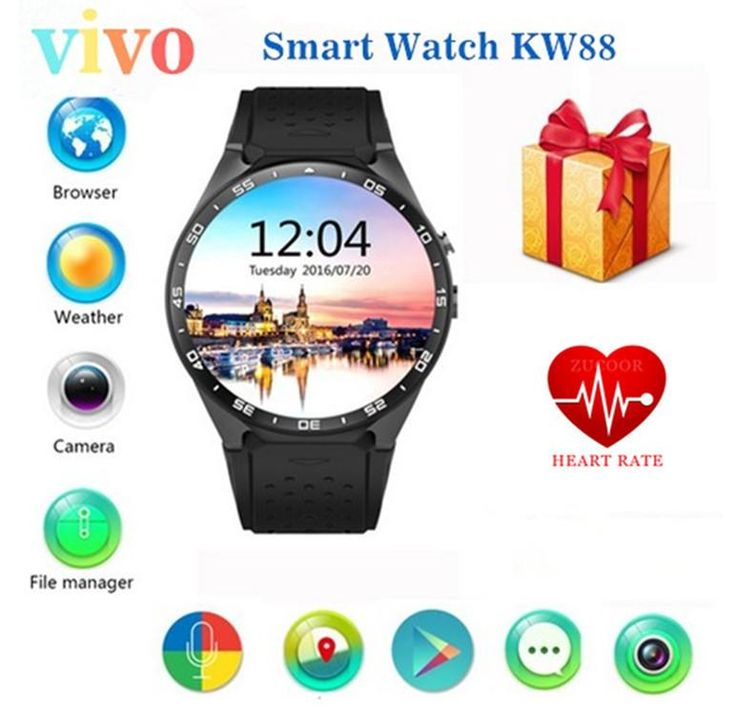 Android smart watch. extra 31% off when using code 31%offnow at secure checked out limited time offer expired without notice   Android 5.1 Smart Watch 512MB/4GB Bluetooth 4.0 WIFI 3G