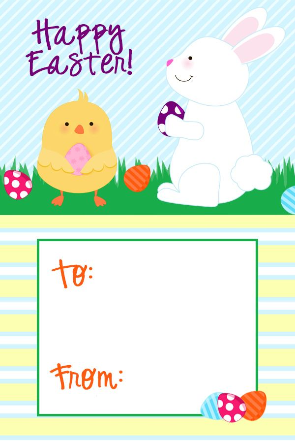 312 best easter spring images on pinterest scrapbook page easter tag gift tags printableeaster negle Choice Image