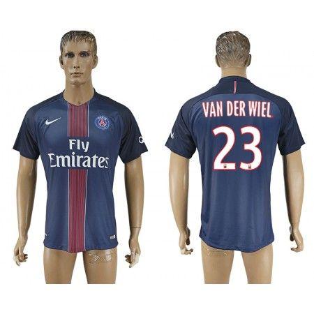 PSG 16-17 #Van Der Wiel 23 Hemmatröja Kortärmad,259,28KR,shirtshopservice@gmail.com