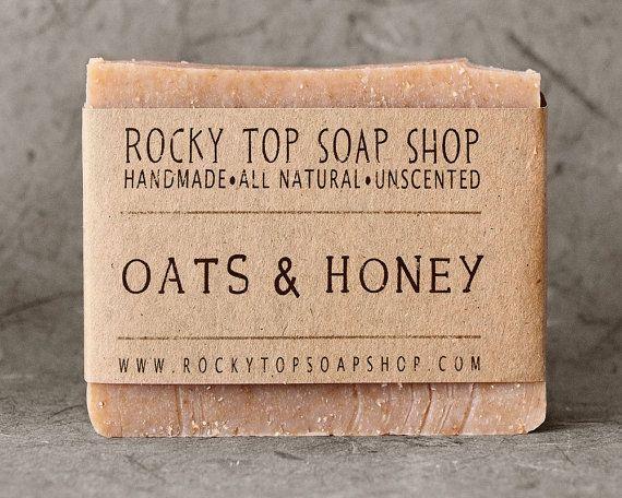 Oats & Honey Soap All Natural Soap Handmade by RockyTopSoapShop