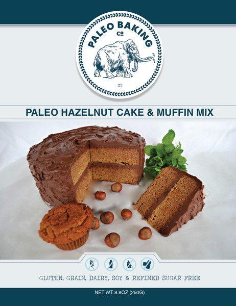 Paleo Hazelnut Cake and Muffin Mix