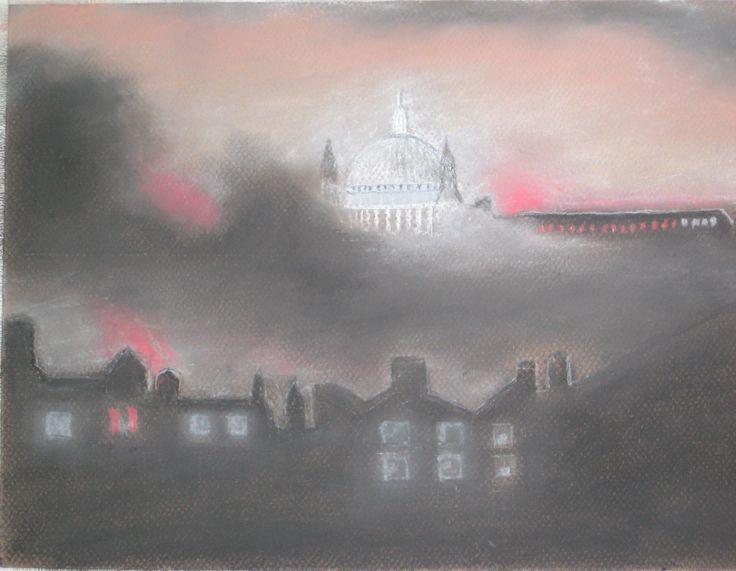 St Paul Cathetral, London 12/1940