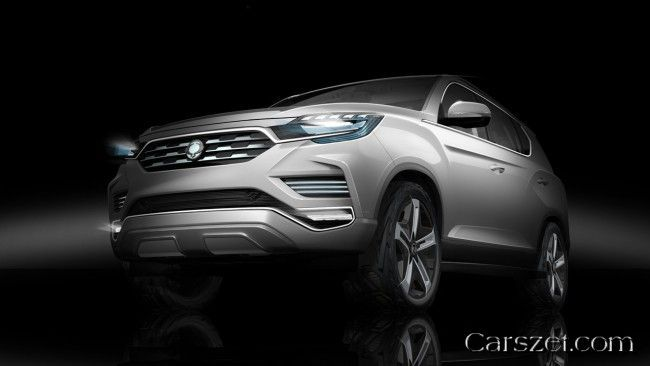 Concept 2018-2019 SsangYong LIV-2 demonstrated the eve of the motor show in Paris