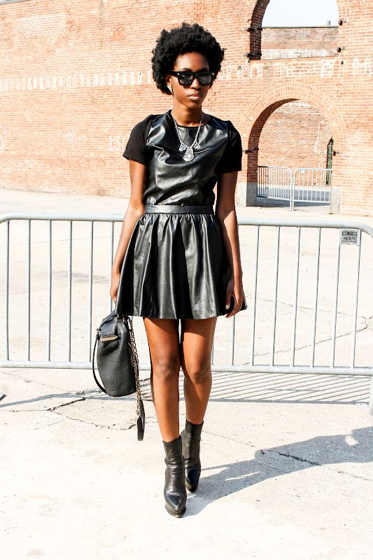 #leather #black #fashion #style