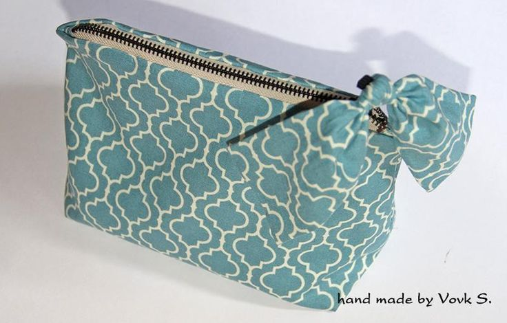 Looking for sewing project inspiration? Check out zippered bow pouch by member medoc.