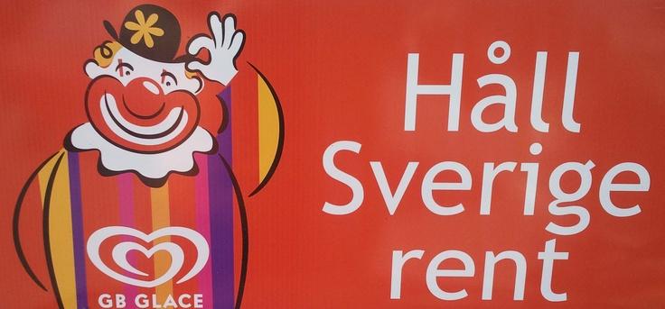 Håll Sverige rent.