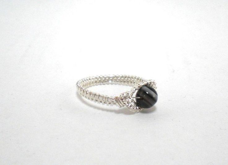 Ring ~ Silber mit Achat