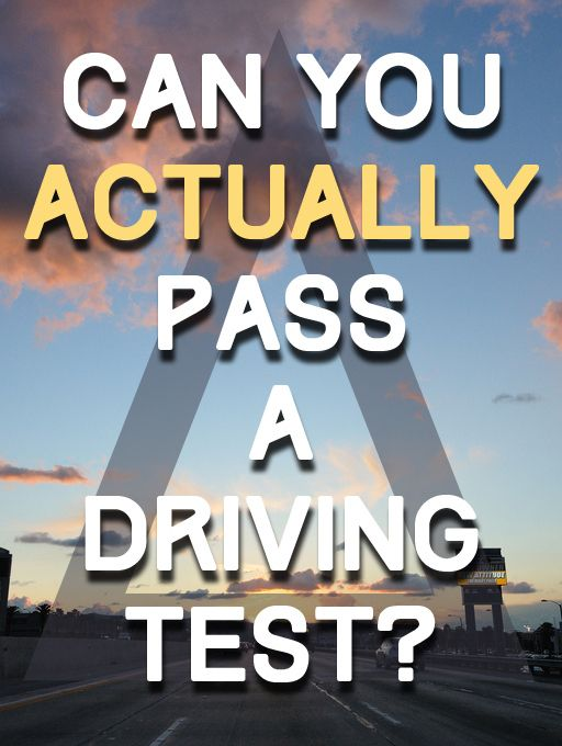 Can You Actually Pass A Driving Test..... well apparently I cannot. I am a menace to society and I want to go fast. I should walk everywhere from now on...