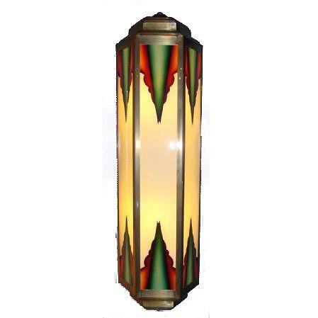 69 beste afbeeldingen over art deco verlichting art deco lighting op pinterest - Art deco wandlamp ...