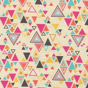 Rashida Coleman Hale - Washi - Washi Triangles in Beige