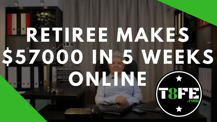 8 figure dream lifestyle - Retired woman makes $57k in 5 weeks online