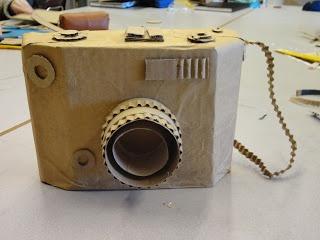 Cardboard Sculpture Element of Art: Form