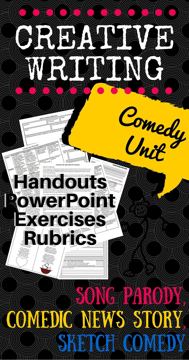 comedy writing exercises Comedy writing self-taught workbook: more than 100 practical writing exercises to develop your comedy writing skills ebook: gene perret, linda perret: amazoncouk: kindle store.