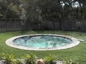 Extremely cool pool - video.  CLICK ON PICTURE TO SEE THIS AMAZING VIDEO.   YOU WILL NOT BELIEVE WHAT YOU SEE.  Unbelievable.   B.